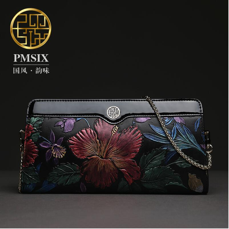 Famous brand top quality dermis women bag 2016 new China the wind messenger bag Retro embossed Dinner Chain bag картридж vsm ce412a для hp color lj m351 451