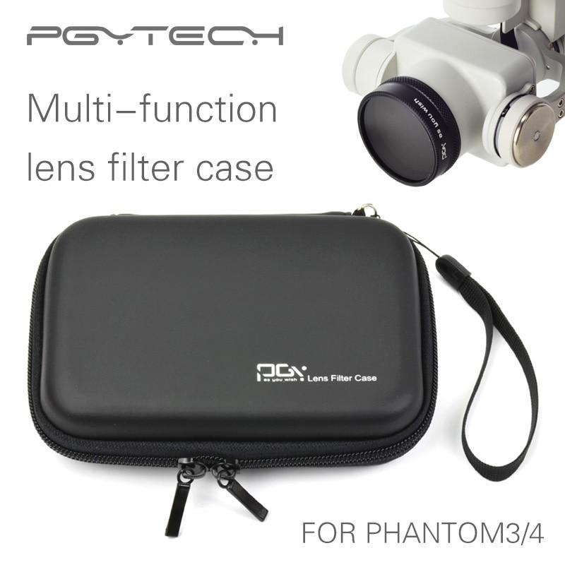 PGY DJI Phantom4 3 OSMO X3 inspire1 gimbal Lens Filter Case Cover font b Bag b