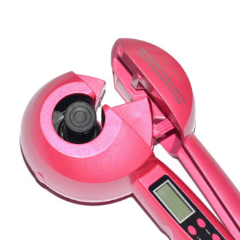 Ceramic Automatic Hair Curler with LCD Screen