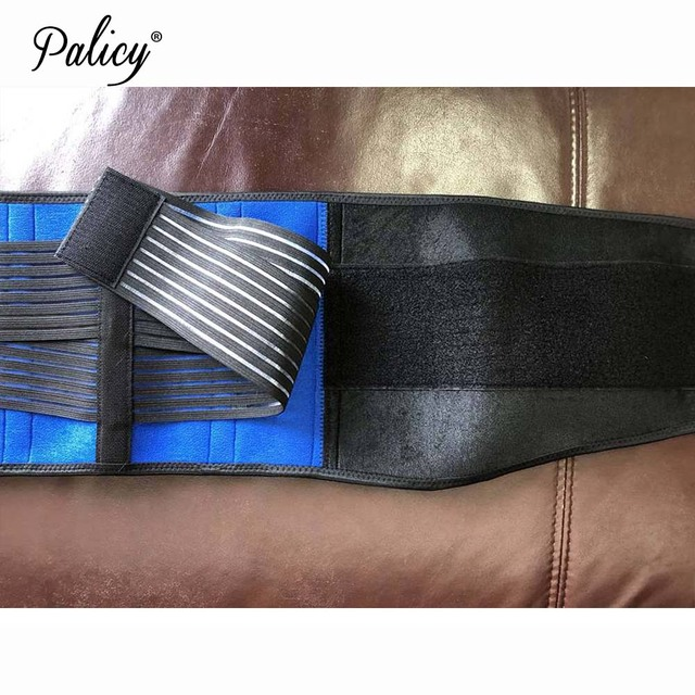 Palicy Super Stretch Slim Belt Men Back Corset Adjustable Neoprene Body Shaper Men Posture Corrector Mens Girdle for Weight Loss