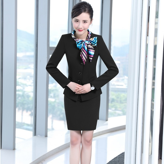 Professional Autumn Winter Formal Blazers Suits With Jackets And