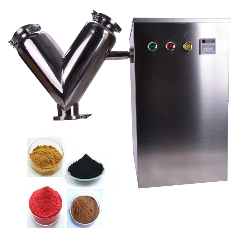 1PC VH Type High efficient Mixer machine Mini mixer material mix machine powder mix blender VH5,dried fruits grinding machine