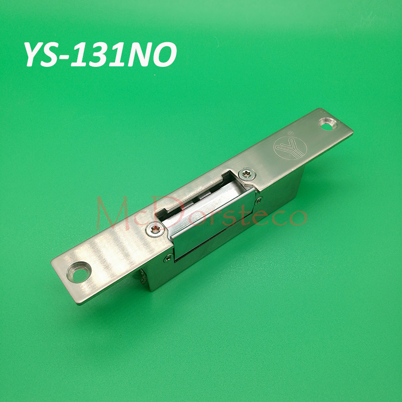 Yli Quality Narrow-type Electric Strike Fail Secure or fail safeElectric Door Access Control YS131NO/NC