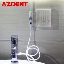 6 ヒント蛇口口腔洗浄器スイッチ水歯科フロッサヘッドポータブル水洗浄器フロス実装灌漑歯クリーナー