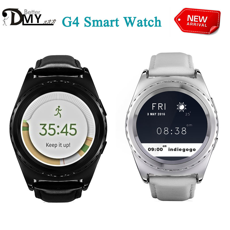 HOT NO 1 G4 Smart Watch Bluethooth Support Sim TF Card Heart Rate Health Tracker Smartwatch