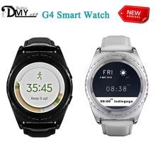 ГОРЯЧАЯ № 1 G4 Смарт Часы Bluethooth Поддержка Sim/TF Карта Сердце скорость Health Tracker Smartwatch для apple samsung gear s2 Android OS
