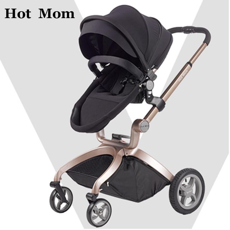 hotmom baby stroller 2in1 2016 new models High landscape can sit or lie folding four seasons Russia free shipping карбюратор на вихрь 25 купить