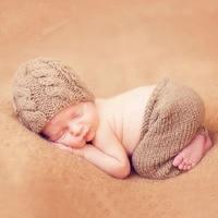 الوليد بيبي بوي فتاة الكروشيه للتصوير الدعامة تتسابق الرضع طفل الصور الفوتوغرافية accessoire زي دش هدية