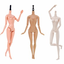 1 Pcs High Quality Naked Moveable 12 Jointed DIY Dolls Body Without Head Accessories For 12 Inch 30cm BJD Doll Girl's Toy Gifts
