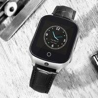 Лиц пожилого возраста детский трекер часы A19 3g gps фунтов WI FI вызова расположение устройства SOS Камера Bluetooth подсчет шагов детей smart watch A19