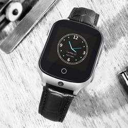 Ouderen Kinderen Tracker horloge A19 3G GPS LBS WIFI Oproep locatie apparaat SOS Camera Bluetooth Stappen tellen Kids smart watch a19