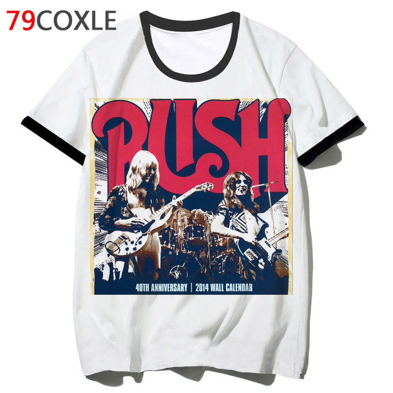 rush band t shirts