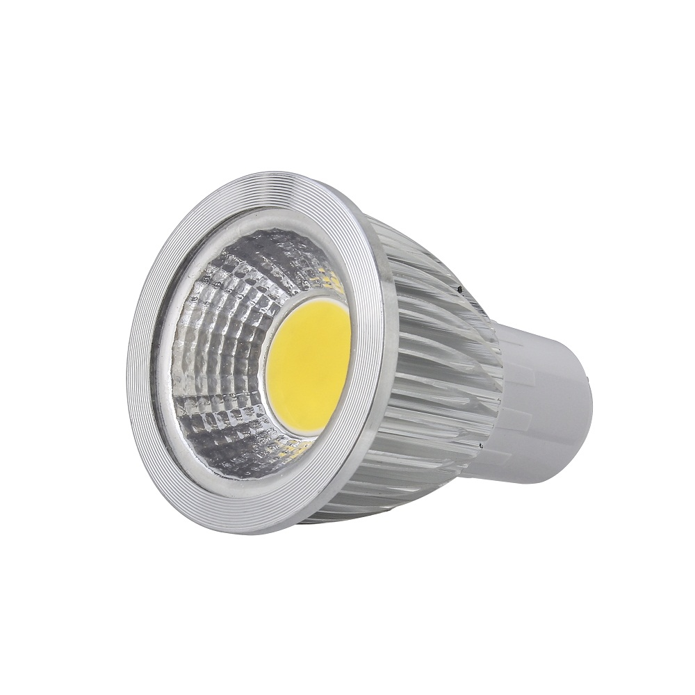 5X Super Bright Lights Dimmable 5W 7W 9W Led COB Bulbs Light GU10 Warm/Pure/Cool White Led Spotlights 120 Angle 700LM 110-240V