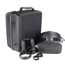 Жесткая Сумка, чехол для переноски для Oculus Rift S VR игровая гарнитура и контроллеры аксессуары защитная сумка портативный Премиум коробка для хранения