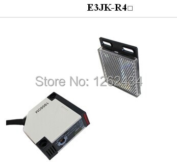 E3JK-R4M2 4 m DC24V   reflective band reflection board relay output r e m r e m out of time 3 lp