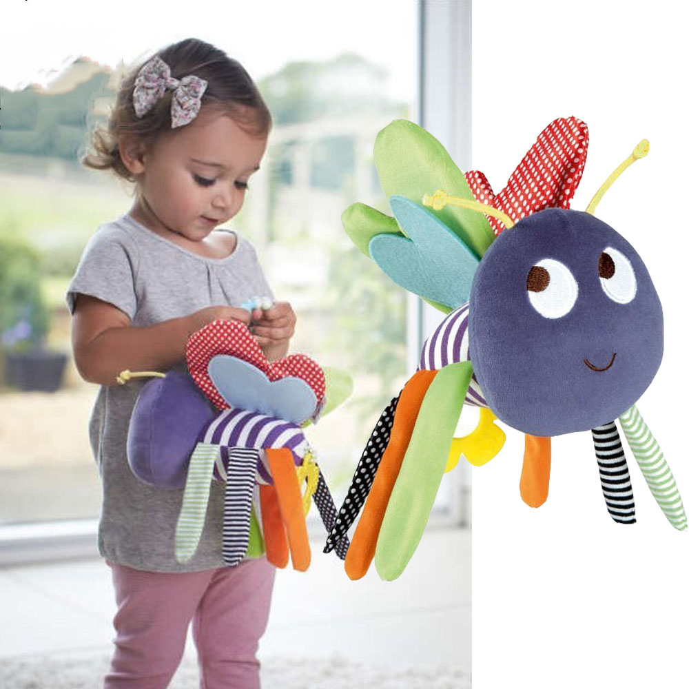 Toys For Kids 9 12 : Butterfly baby toys months plush mamas papas doll