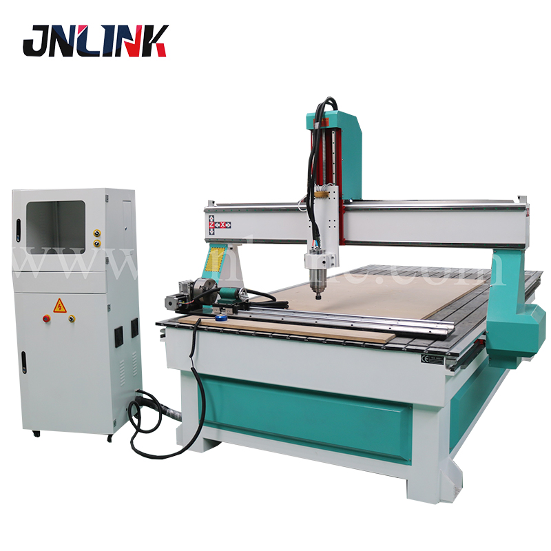 Low Cost Wood Foam Stone 4 Axis Cnc Router Machine For Sculpture Statue Figure