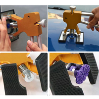 DIY Car Body Paintless Dent Repair Lifter Glue Puller Hail Removal Repair Tool Kits with 18 Tabs For BMW Audi Ford VW