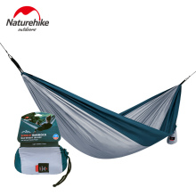 Naturehike 1/2 Person Ultralight Single Double Hammock Outdoor Camping Leisure Hanging Tent Portable Hanging Sleeping Bed  недорого