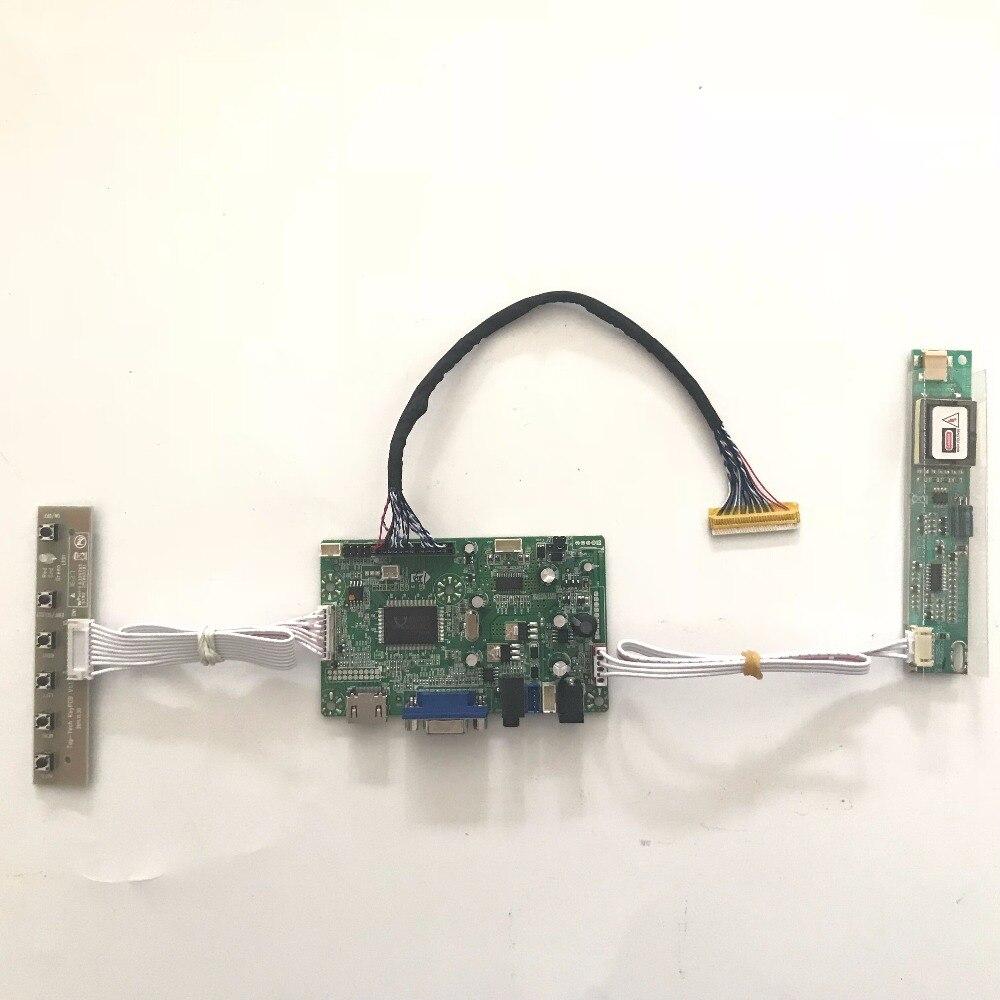 Lvds ЖК-дисплей экран DIY Kit Raspberry Pi с HDMI, VGA, аудио ЖК-дисплей плате контроллера для m190eg01 V2 1280x1024 4 CCFL Бесплатная доставка ...