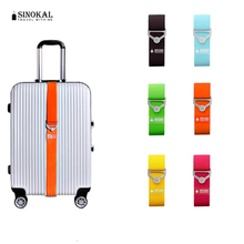 Travel Elastic Luggage Straps Adjustable Strap Travel Luggage Belt Suitcase Strap New Brand Candy Color