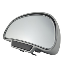 1 Pair Car Mirrors Rear View Mirror Wide Angle Side Rearview Universal Blind Spot Square of 2 Colors