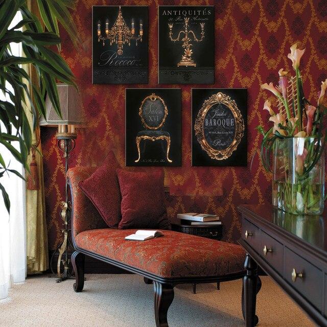Koop schilderijen canvas meubels muur decoratie home decor op canvas moderne - Deco woonkamer aan de muur wit ...