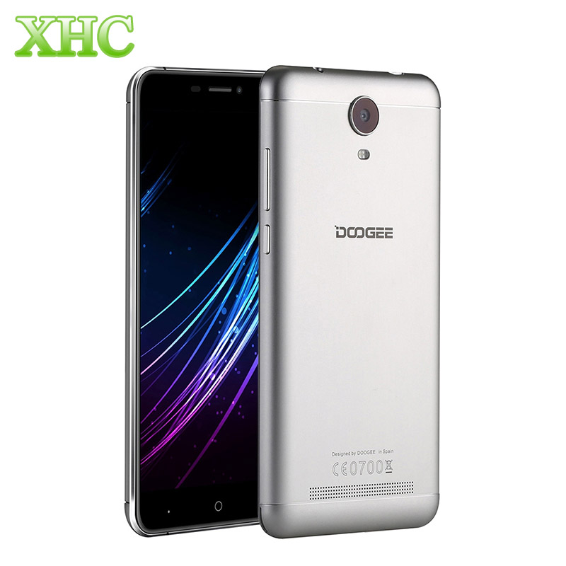 DOOGEE X7 16GB 3G Smartphone 6.0 inch 2.5D Android 6.0 3700mAh Cell Phone MTK6850 Quad Core RAM 1GB Dual SIM Mobile Phone