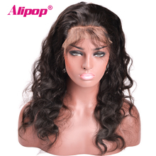 [ALIPOP] Pre Plucked 360 Lace Frontal Closure With Baby Hair Brazilian Body Wave Remy Human Hair 8″-22″ Natural Hairline