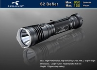Free Shipping Skilhunt S2 Defier CREE XM L2 950 Luems Led Flashlight Camping Torch Compatible With
