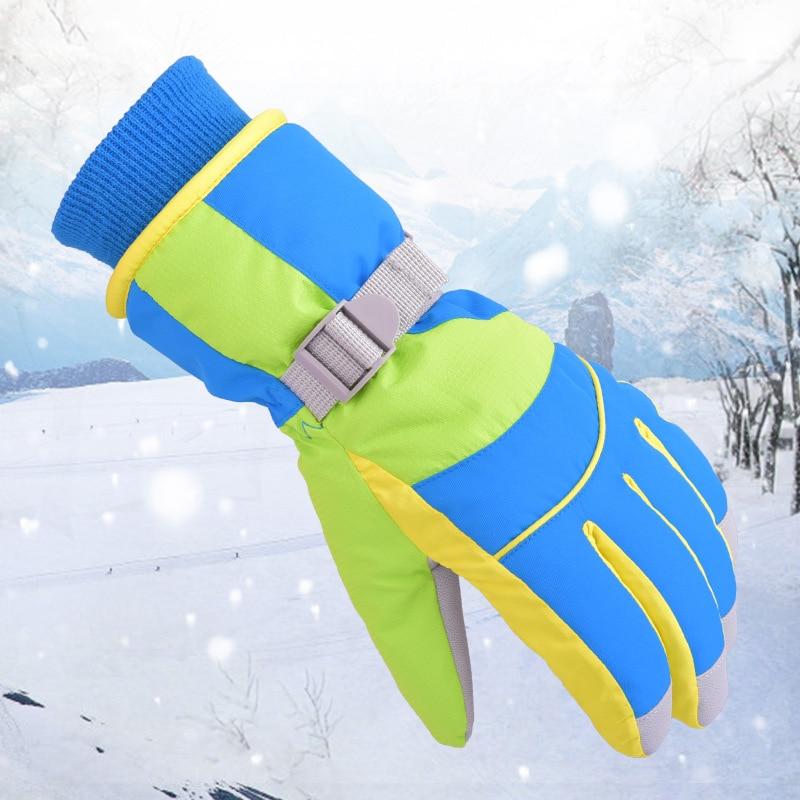 Marsnow Men Women Boy Girl Chidren Kids Ski Gloves Snowboard Gloves Motorcycle Winter Skiing Climbing Waterproof Snow Gloves