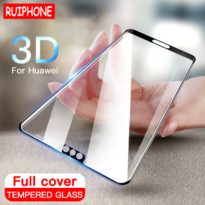 <font><b>3D</b></font> Full Cover Tempered <font><b>Glass</b></font> For Huawei P20 Pro P10 Lite Plus Screen Protector For Huawei P20 <font><b>Honor</b></font> <font><b>10</b></font> 8 9 Lite Protective <font><b>Glass</b></font> image
