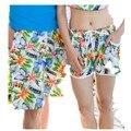 Nuevo 2017 Pareja de Luna de miel Suelta de secado Rápido de Playa Pantalones Cortos Pantalones Cortos de Impresión de la playa de Arena Troncos Envío libre