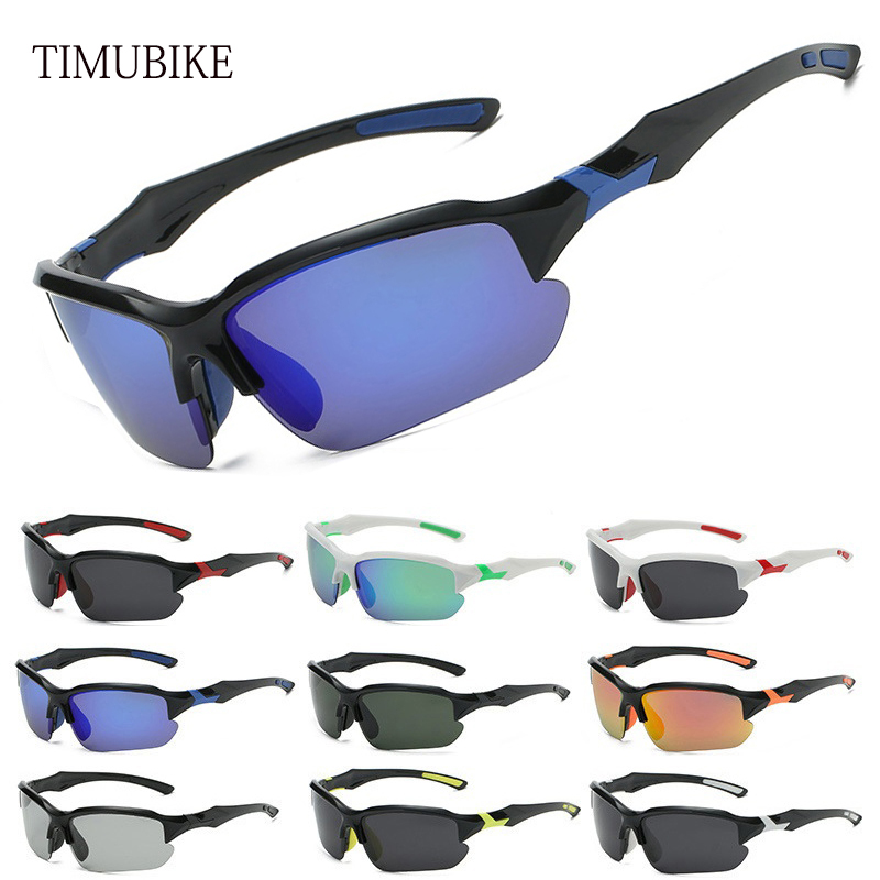 Embracing Design Cycling Glasses Bicycle Sunglasses Photochromic Polarized Bike Glasses One-piece Nose Holder Soprts Glasses