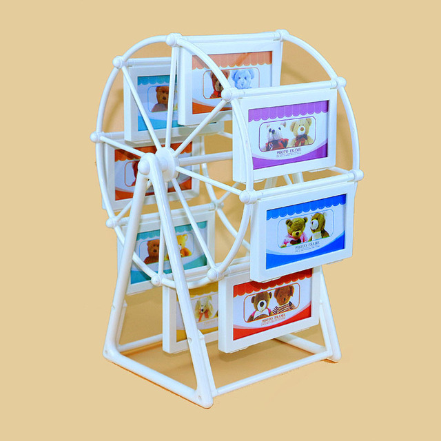 Creative Ferris wheel photo wall frame sandwiched Decoration ten ...