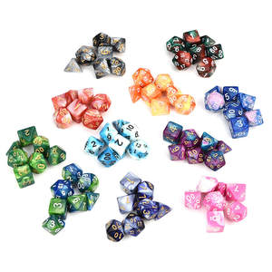 Dice-Game Multi-Sided Acrylic Polyhedral Digital Gift D4-D20 3o30