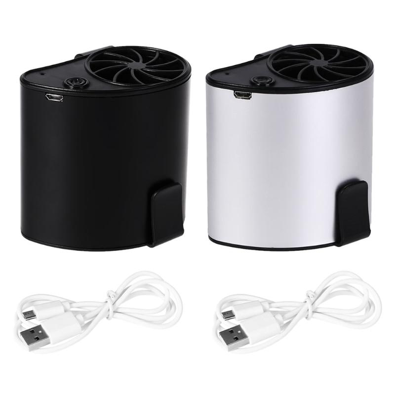 Mini Portable Waist Fan USB Rechargeable Air Conditioner