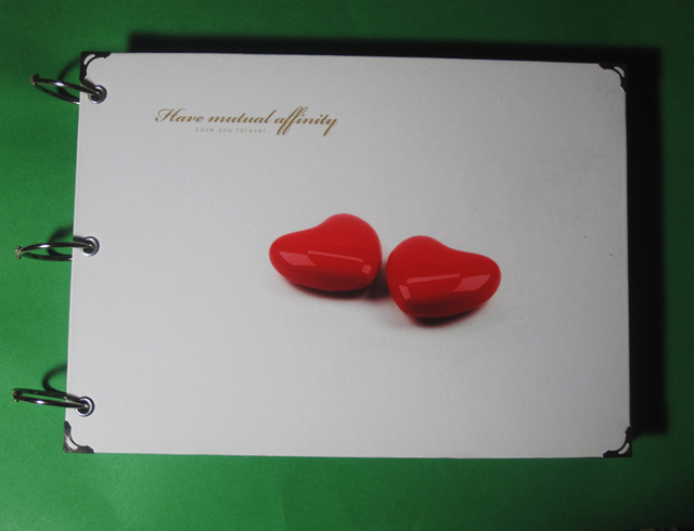 Lovers gift love eternal gift diy handmade photo album