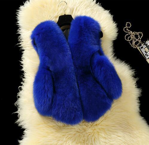 baby autumn winter vest waistcoat children's fur vest boys girls imitation fur coat kids faux fur fabric clothes