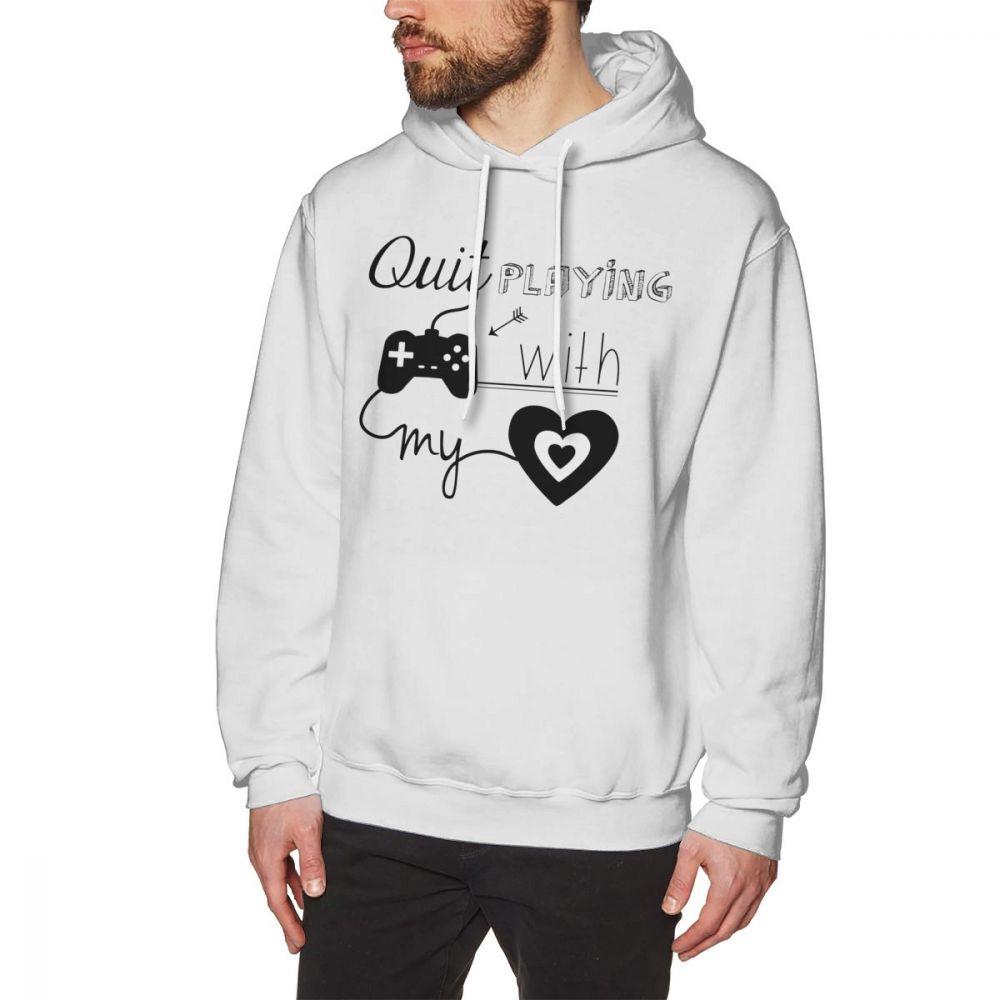 Backstreet Boys Hoodie BSB Quit Playing Games With My Heart Hoodies Loose Big Pullover Hoodie Mens Cotton Long Sleeve Hoodies