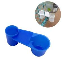 1 шт. птичий голубь перепелиная поилка чаша автоматические поилки двухпортовые ПЭТ автоматическая кормушка для птиц оборудование для поилки