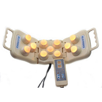 Jade Massager Electric Natural Jade Massage Back Shoulder Neck Heating Therapy Defense Against Pain Treatment Instrument
