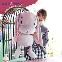 1pc 70cm Huge size kawaii Lucky Rabbit Plush toy Lovely Sitting Animal Rabbit pillow Dolls Stuffed Baby Appease Playmates Toys