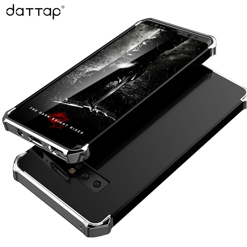 DaTTap Luxury Phone Case for Samsung Galaxy Note 8 Case Armor Hard PC Plating Shockproof Back Cover for Samsung Note 8 Cases 6.3