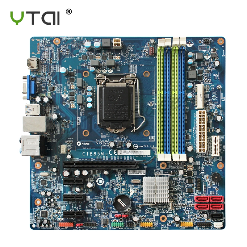 for Lenovo K450 Desktop Motherboard CIB85M LGA115X D33008 VER 1 0 mainboard support core I5 processor
