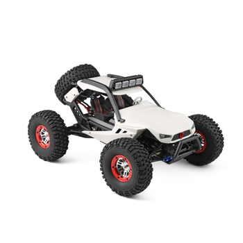 New Kids Electric Remote Control Car Toy 1:12 2.4G 15 Mins 150M 40KM/H 4WD Vehicle High Speed RC Climbing Car With LED Lighting