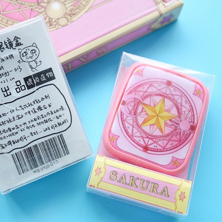 Card Captor Sakura Magic Circle Stealth Glasses Box Double Box Nursing Box Cos Cosplay Props Novelty & Special Use