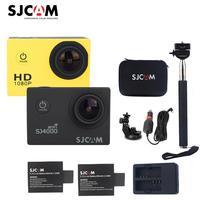 100 Original Sjcam SJ4000 Series 2 Screen Sj4000 SJ4000 WIFI 1080P HD 30M Waterproof Diving Sports