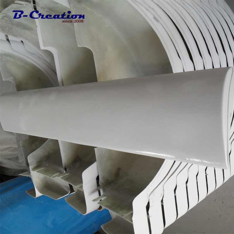 1.4m or 1.8m White Aluminum alloy blade and hubs for DIY vertical axis wind turbine or wind generator