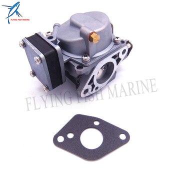 Outboard Motor T8-05000800 Carburetor Assy and T8-05000012 Gasket for Parsun HDX Makara 2-stroke T9.8 T8 T6 BM Boat Engine